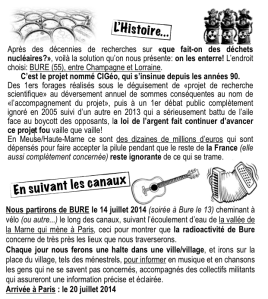 Fly Halage Histoire